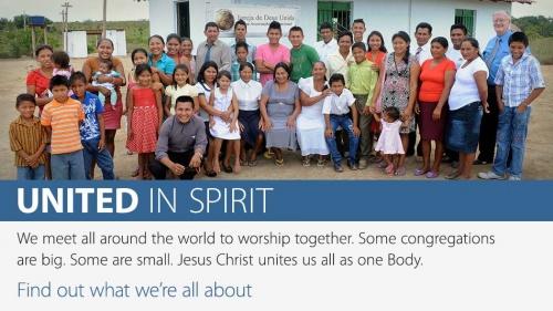 United in Spirit Banner